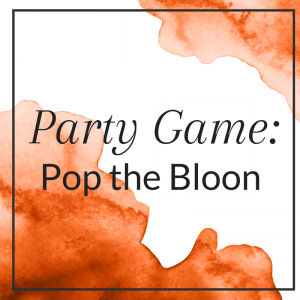 Party Game: Pop the Bloon
