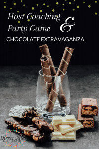 Add chocolate to your direct sales parties with this game and host coaching trick.
