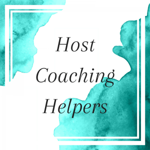 Title: Host Coaching Helpers