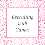 Recruiting games you can play at your next direct selling event. Grab the FREE printable too.