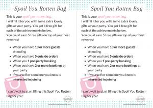 Spoil You Rotten Bag