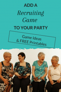 Use these 2 recruiting games at your direct sales party to have some fun and increase your recruits.
