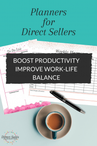 Use these planners to organize yourself and make your direct sales business portable.