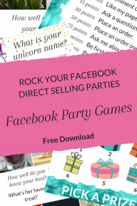 Get better results from your facebook parties - direct sales