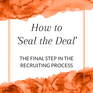 Title: How to Seal the Deal