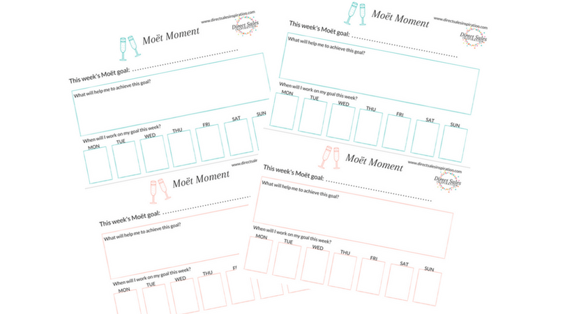Example of Moet Moment Printables