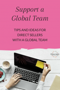 How do you support a global direct sales team? I've got some tips and tools and tricks for you!