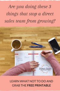 Learn about 3 things that you might be doing that's slowing your direct sales team growth down.