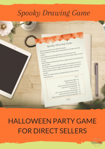Pinterest: Spooky Drawing Game