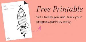 Free Rocket Ship Printable