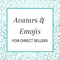 Title: Avatars & Emojis for Direct Sellers