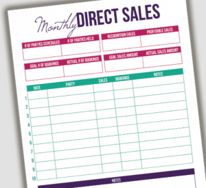 Direct Sales Tracker