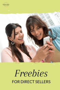 Pinterest: Freebies from around the internet for direct sellers!