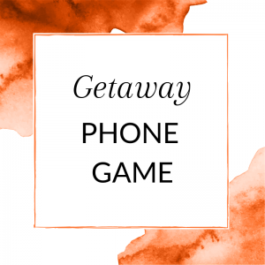Getway Phone Game for Direct Sales Parties