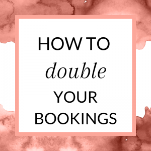 Title: How to double your bookings in your direct sales biz