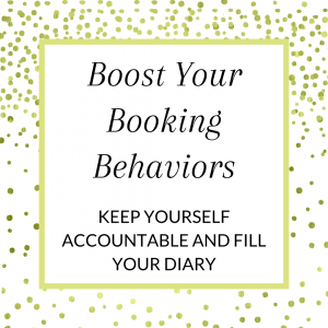 Title: Boost your bookings. Keep yourself accountable and fill your diary.