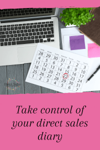 Take control of your direct sales diary and get more bookings
