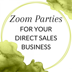 Title: Zoom parties for your direct sales business