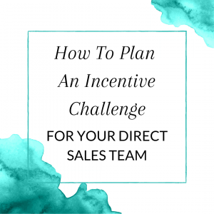 Title: How to plan an incentive challenge for your direct sales team