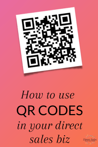 How to use QR Codes in your direct sales business
