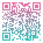 QR Code example in Direct Sales Inspiration brand colors.