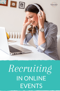 Recruiting tips for online events