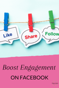 Boost engagement on Facebook